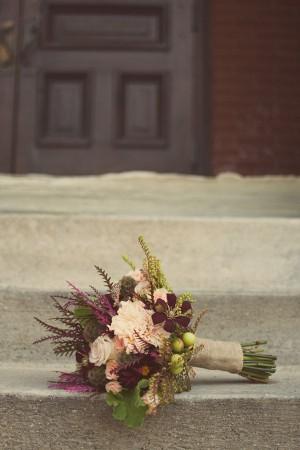 burlpa panza de sac inspiratie de toamna nunta buchet de mireasa