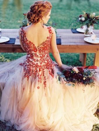 rochia de mireasa inspiratie de toamna