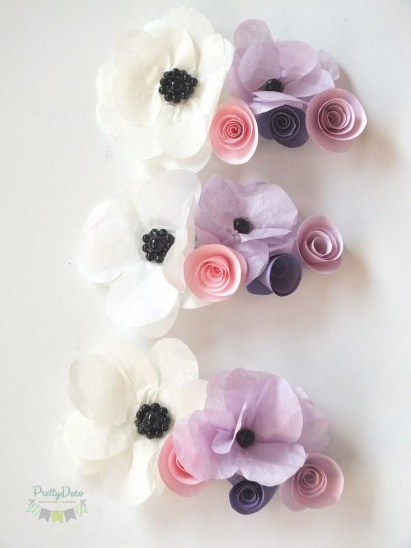 Buchete De Flori Lumanari De Botez Sau Cununie Cu Flori Din Hartie