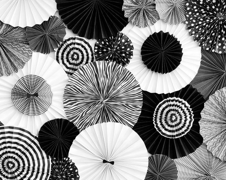 black and white corporate party prettydeco
