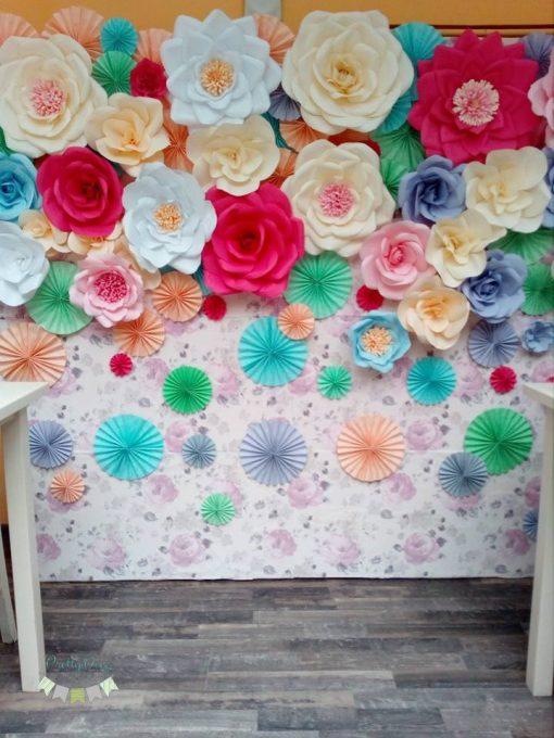 Panou floral de inchiriat
