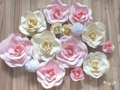 decor flori camera fetita